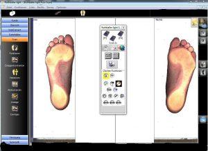 2D scan Einlagen